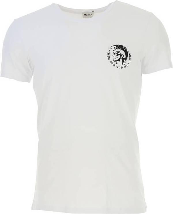 Pánske tričko Diesel Umtee Randal threepack biele
