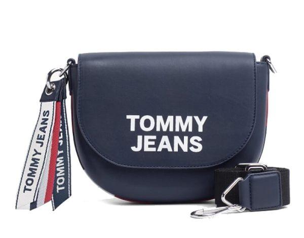 Kabelka Tommy Hilfiger Tommy Jeans Leather Crossover Bag