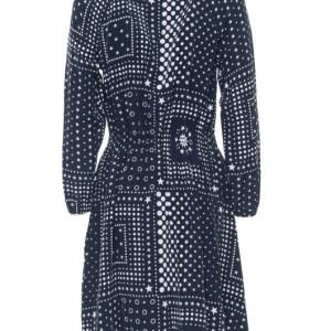 Hodvábne šaty Tommy Hilfiger Honor modré 2
