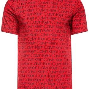 Tričko Calvin Klein Compact Flex červené 7VJ