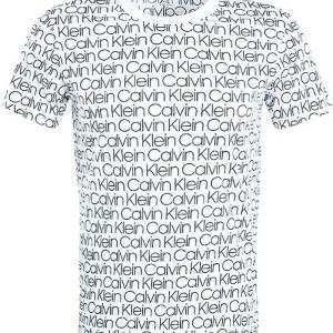 Tričko Calvin Klein Compact Flex biele
