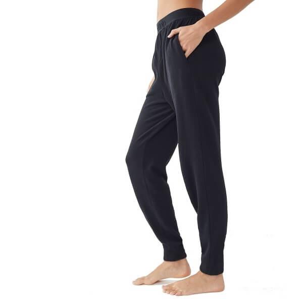 Tepláky Calvin Klein Tonal Logo Jogger čierne QS6305E 001 2
