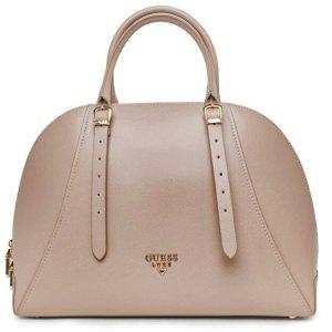 Dámska kožená kabelka Guess Luxe taupe 1