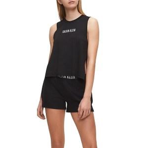 Calvin Klein šortky dámske Beach Short Intense Power BEH čierne_02