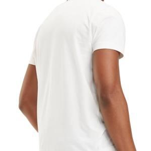 Tommy Hilfiger tričko pánske Flag Logo T-Shirt biele 118_002