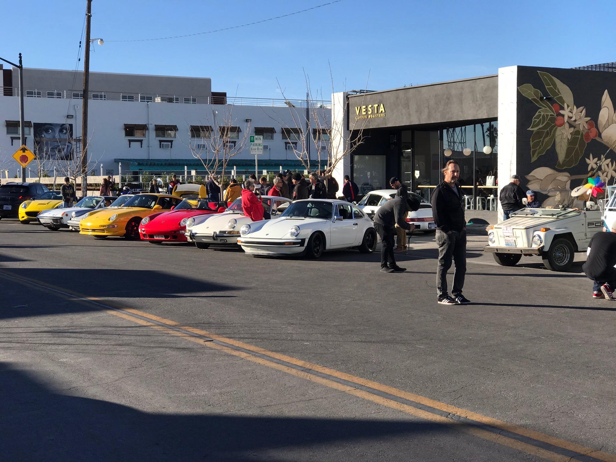 Cars und Kaffee in Downtown Las Vegas – Meet-up Last Sunday