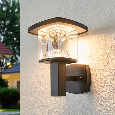 askan stainless steel led outdoor wall light