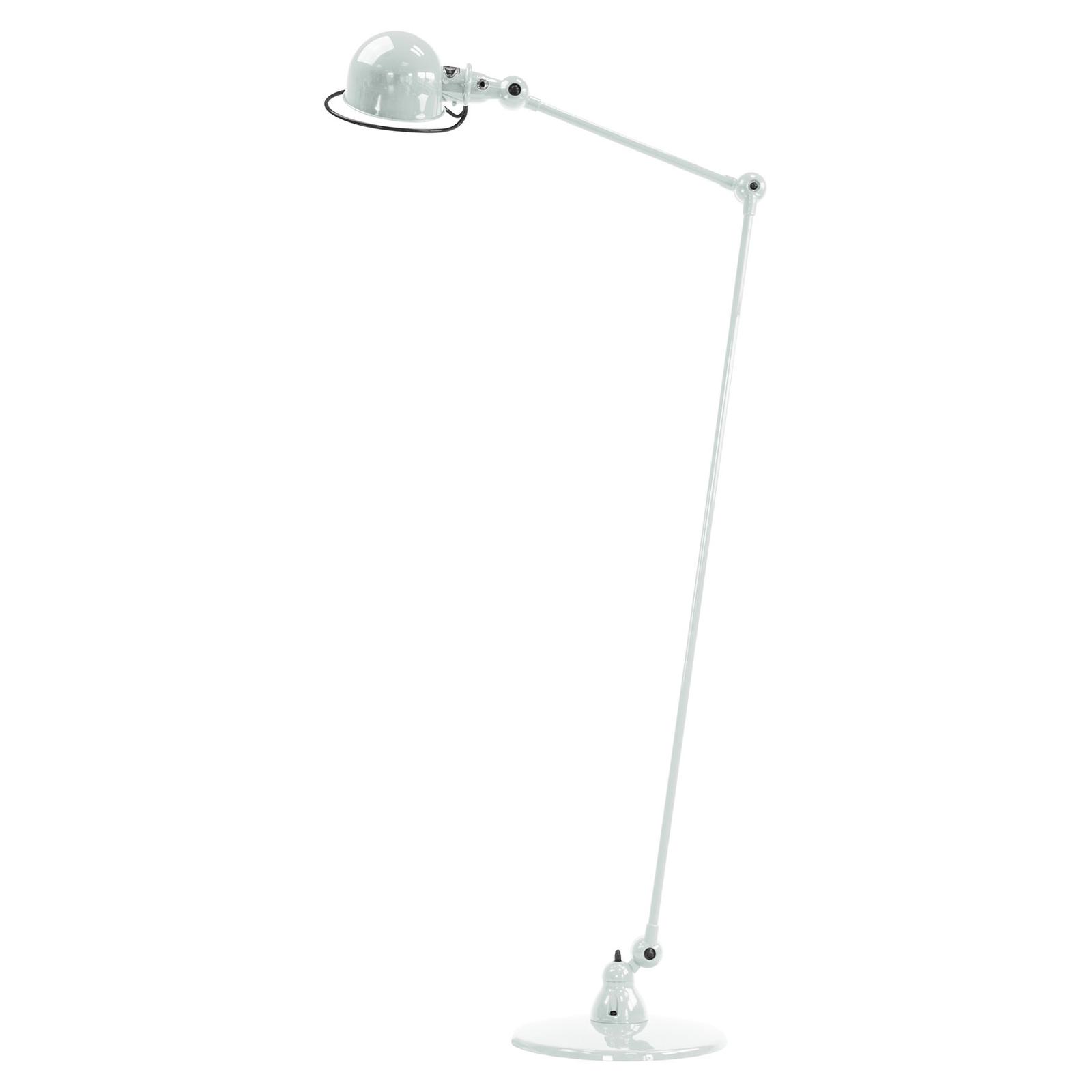 jielde loft d1240 lampadaire bras articule blanc