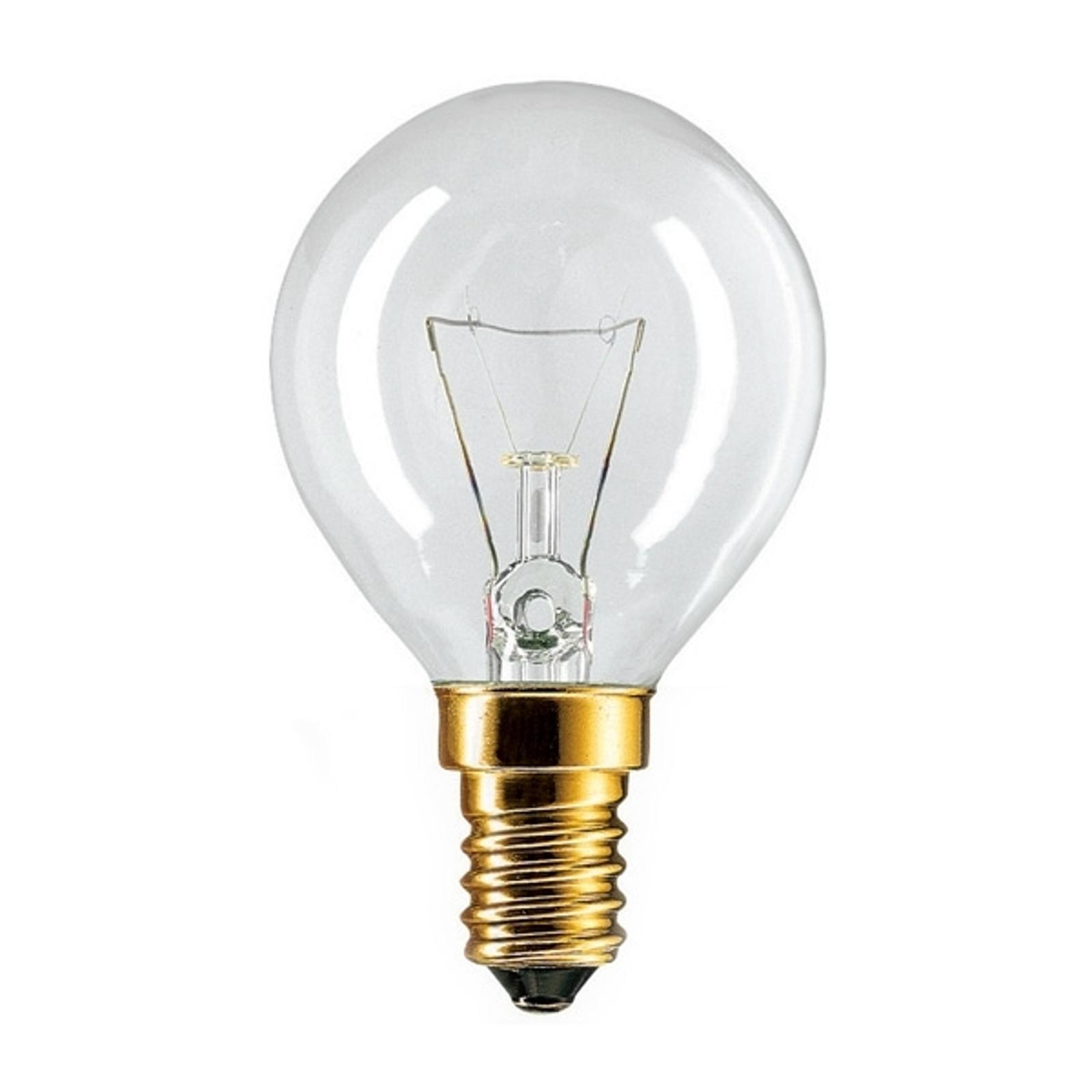 ampoule claire pour four e14 40w jusqu a 300
