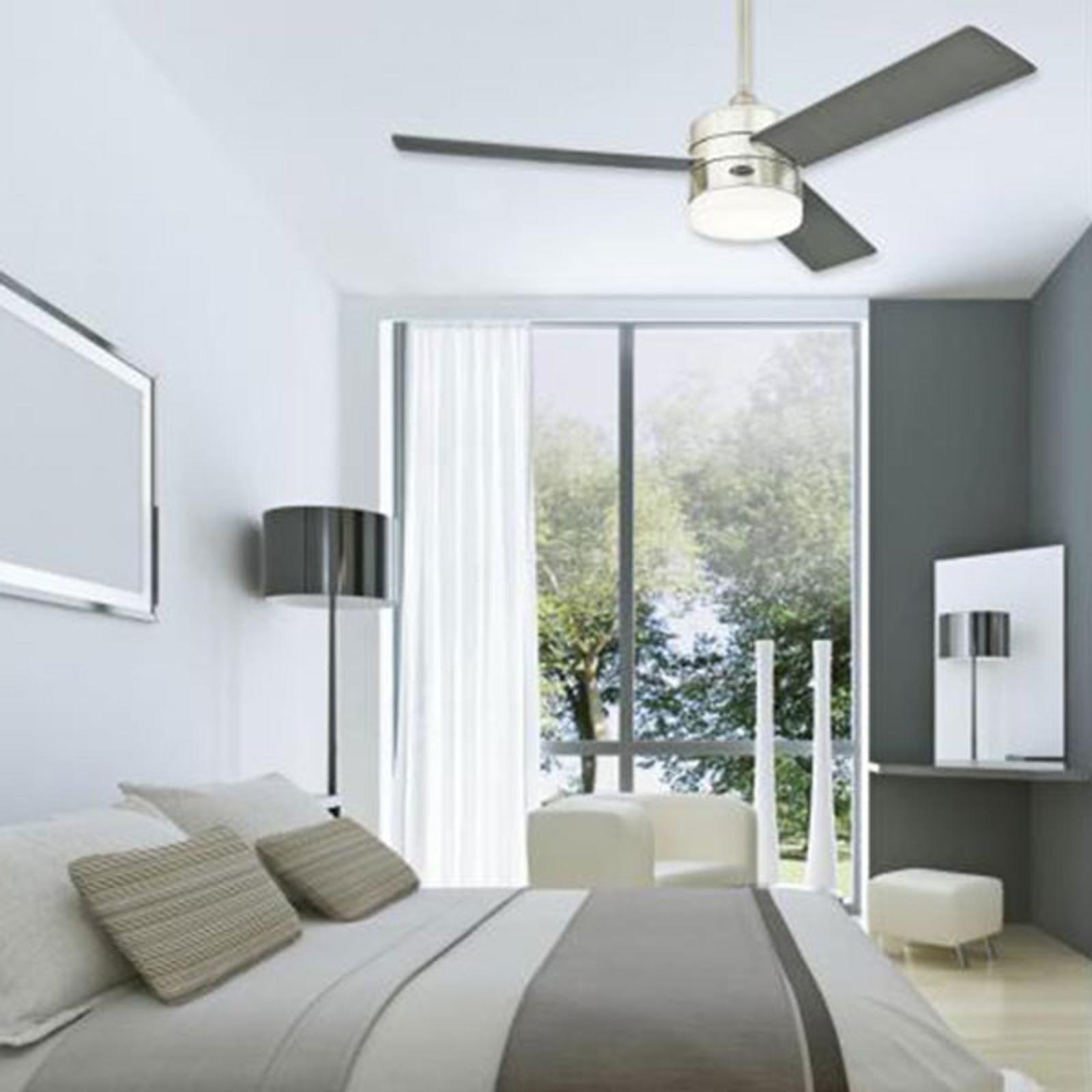 Moderne Designet Loftventilator Alta Vista Led Lampegiganten Dk