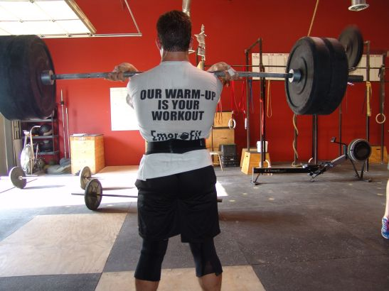 Some Clean and Jerk Work