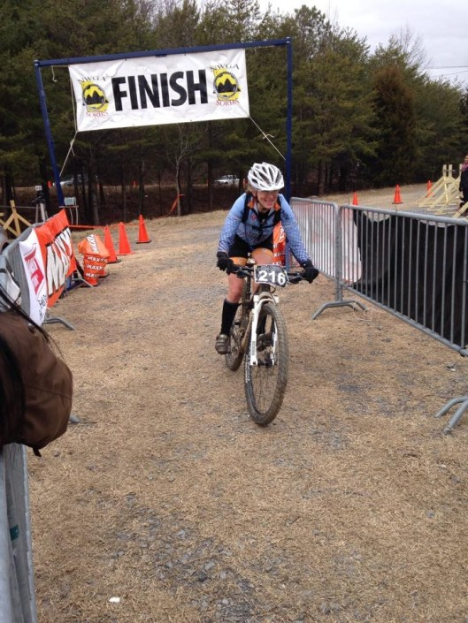 2014 Snake Creek Gap Time Trial Finish Line