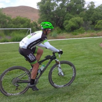 Intervals for mountain bikers