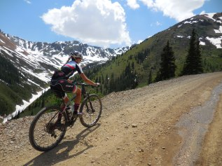 Enjoying the views from Ophir Pass - a little preview for next month's Telluride 100!