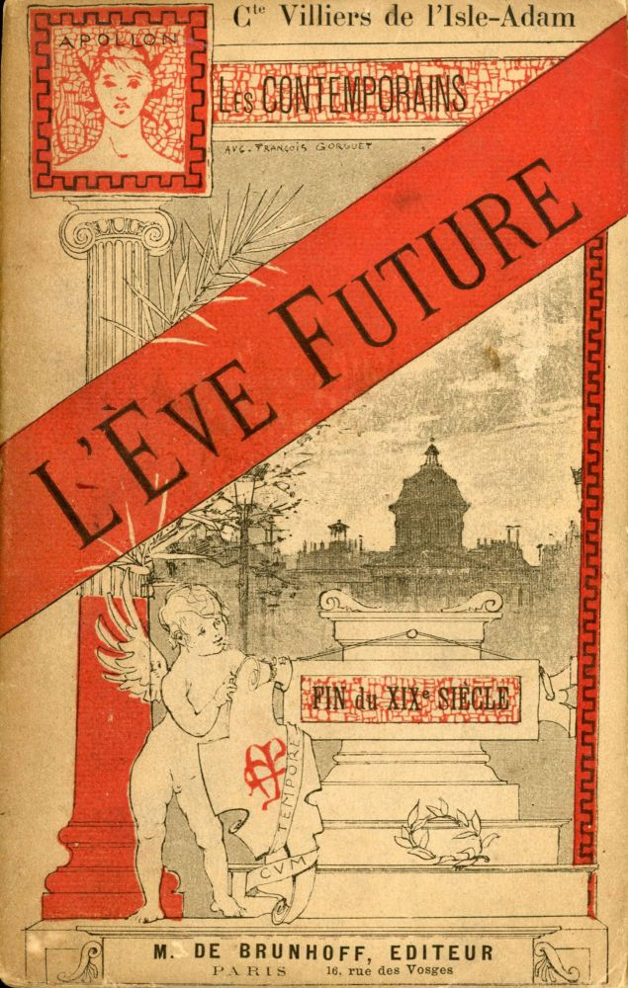 Villiers De L'isle Adam L'eve Future : villiers, l'isle, l'eve, future, L'EVE, FUTURE, Marie, Mathias, Philippe, Auguste, Villiers, L'Isle-Adam, First, Edition