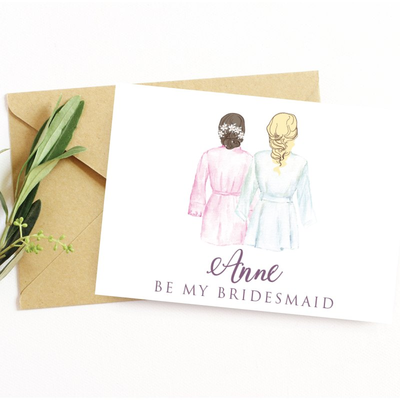 Bridesmaid Cards