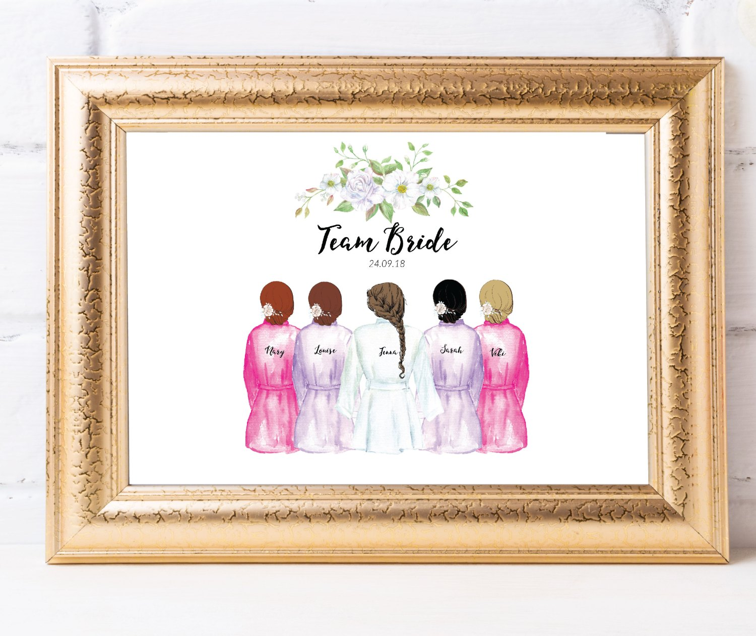 Bridesmaid Prints