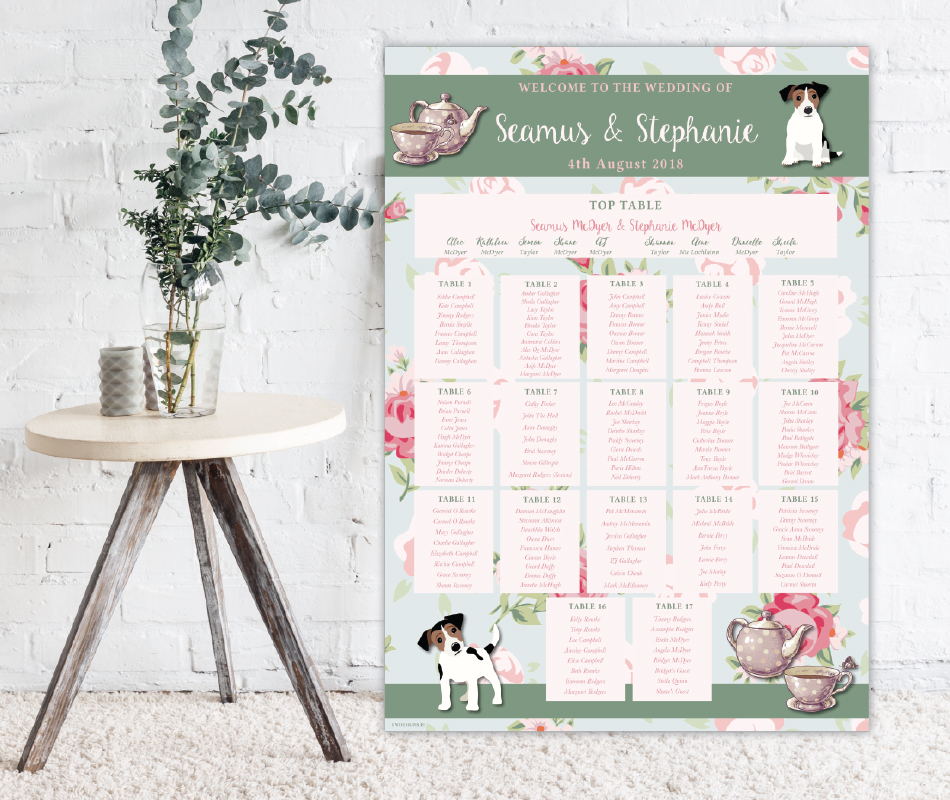 Wedding Table Plan