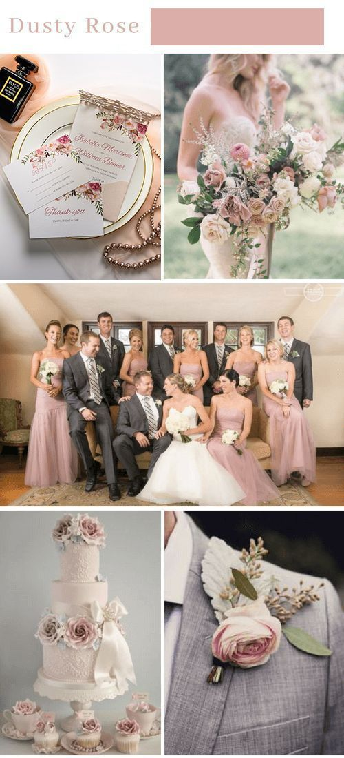 Blush Rose Colour Palette