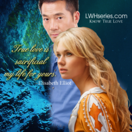 True love is sacrificial my life for yours Elisabeth Elliot LWHseries.com - Know True Love Picture of Asian man and young woman