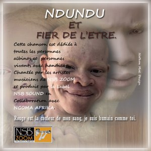 Albino 1 300x300 NSB All Stars - Ndundu et fier de l'être