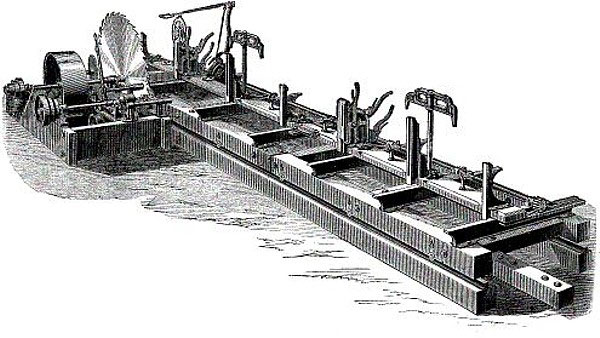 Saw Mill Machinery For Sale