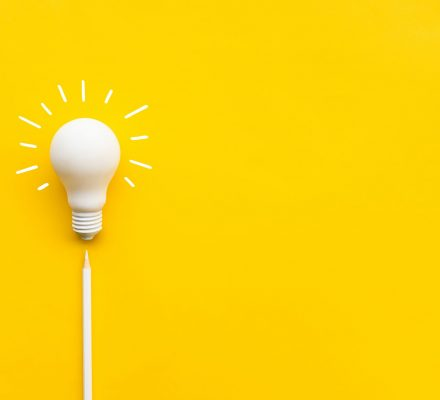 Business,Creativity,And,Inspiration,Concepts,With,Lightbulb,And,Pencil,On