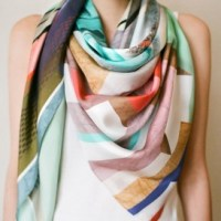 The best new ways to wear a scarf