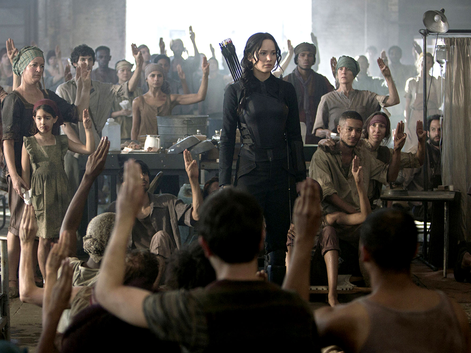 How The Hunger Games Became A Global Symbol Of Resistance
