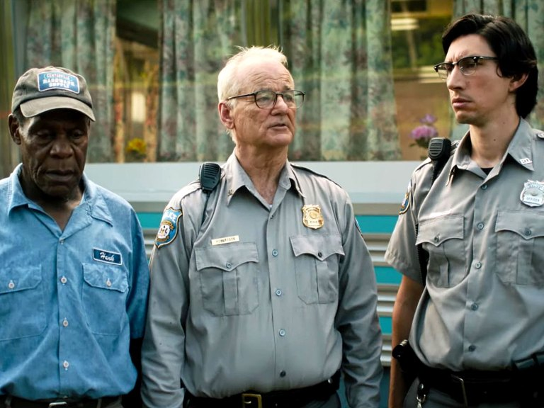 Adam Driver, Bill Murray and Danny Glover in The Dead Don't Die (2019)