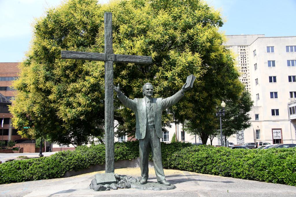 Graham statue 1