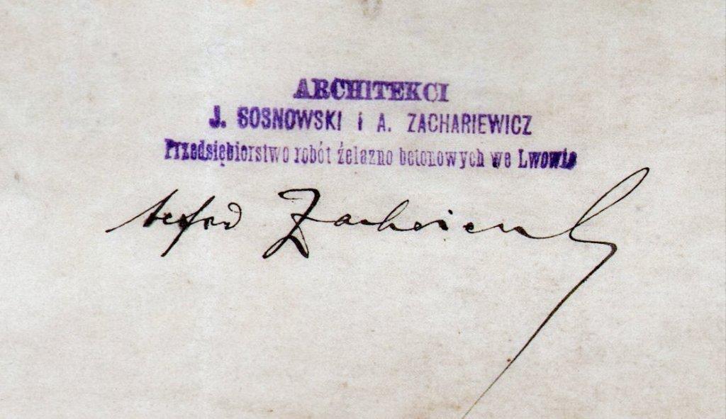 podpis Alfreda Zachariewicza