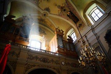 kościół św. Antoniego we Lwowie