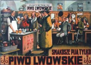 Stara polska reklama piwa