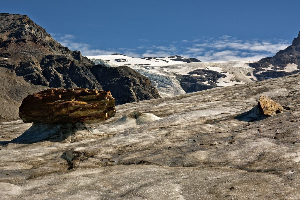 Castner Glacier in the Alaska Range