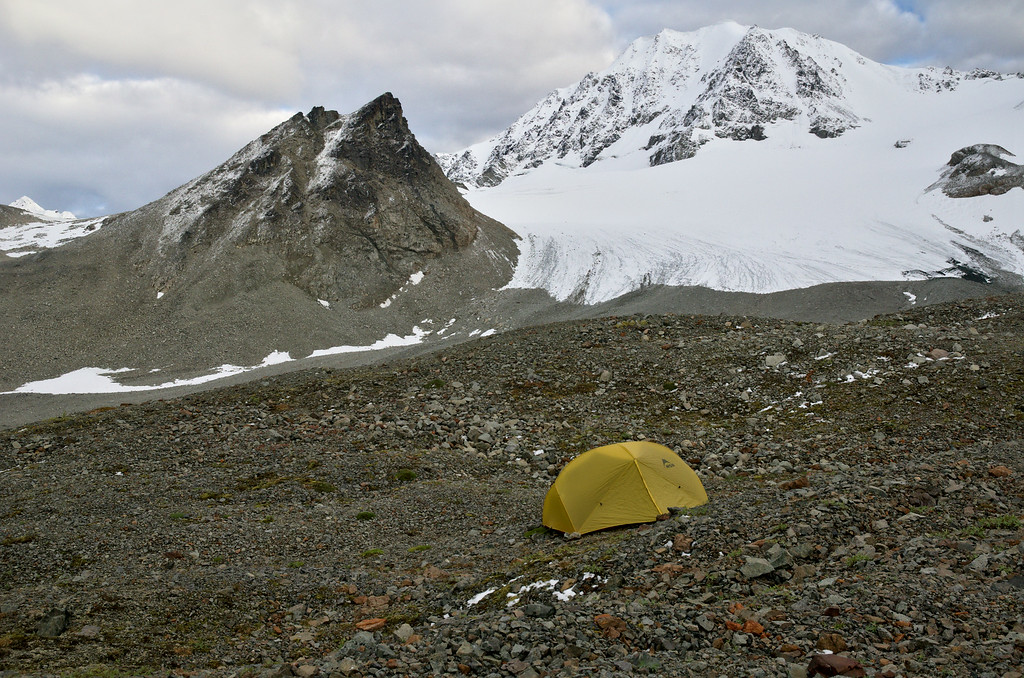 Campsite in the Rainbow Basin