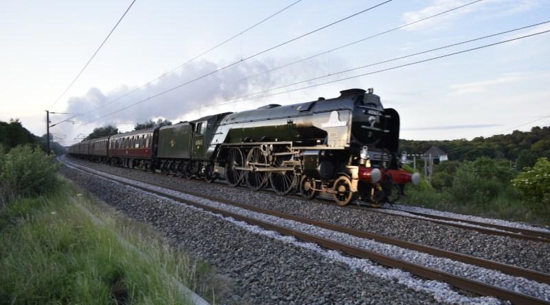 Tornado Steam Locomotive
