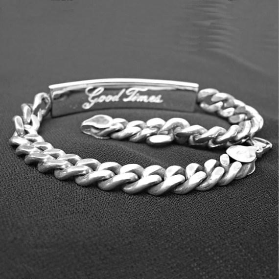 ID Chain Bracelet