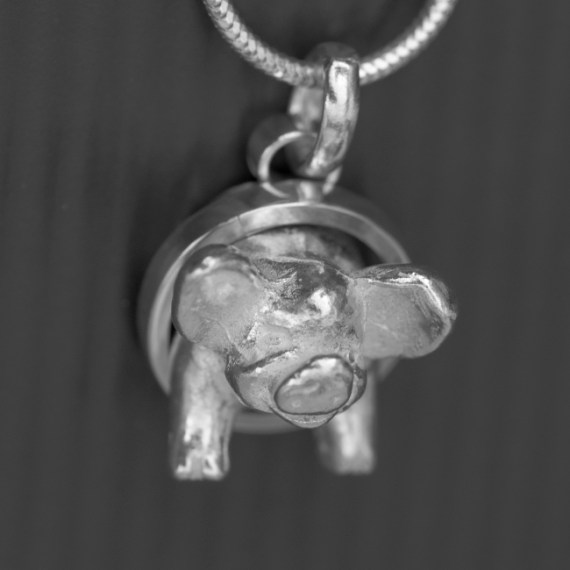Pig Necklace