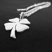 Four leaf clover necklace