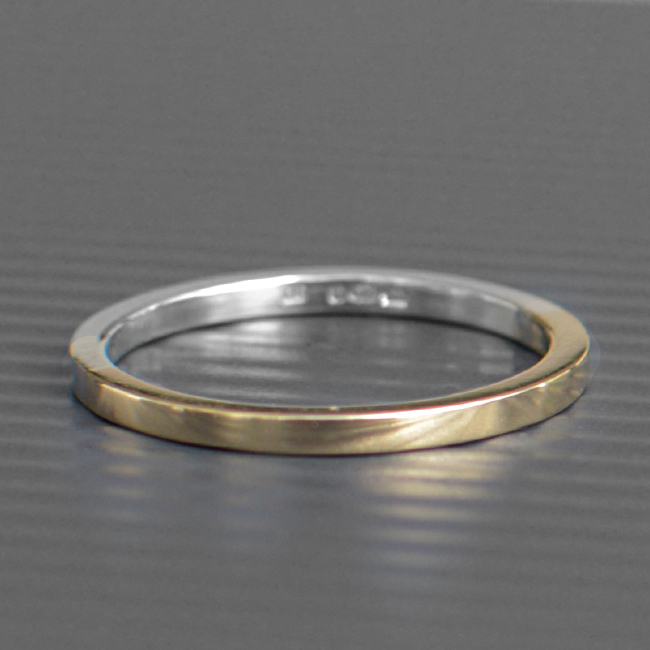 Gold and Silver Ring  LWSilver