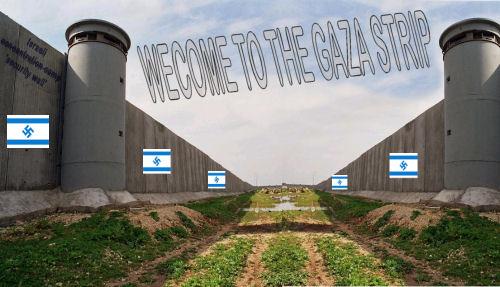 wecome to the Gaza strip 1