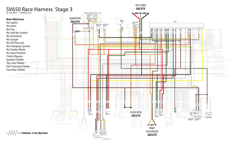 sv650 wiring diagram