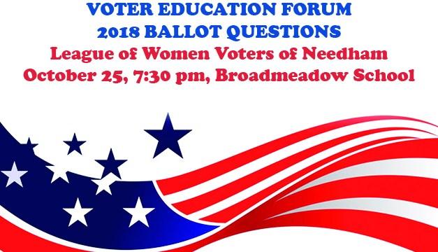 2018 Ballot Questions Voter Education Forum