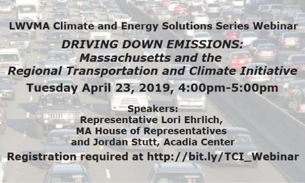 Webinar: Transportation Climate Initiative