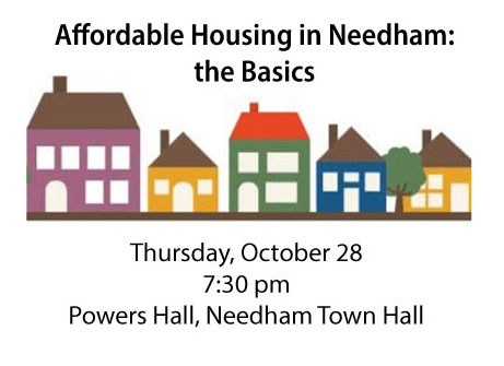 Affordable Housing in Needham: the Basics