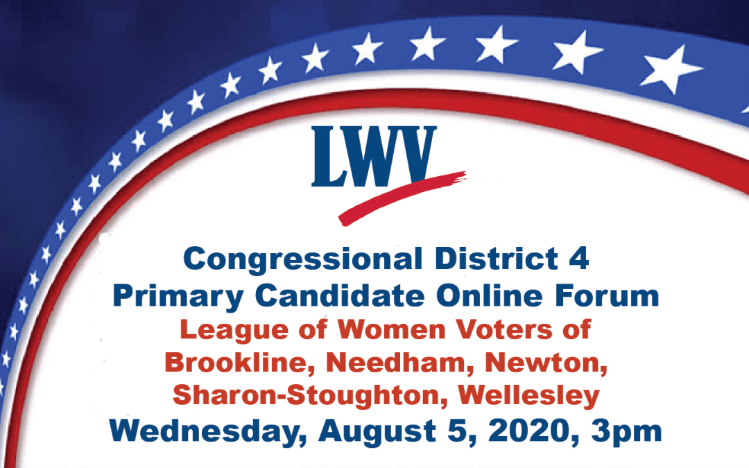 Congressional District 4 Candidate Forum