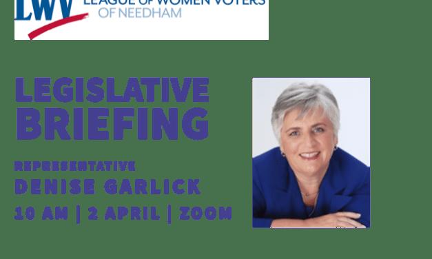 Legislative Briefing with Rep. Garlick