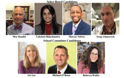 Candidates Night School Comm & Select Board