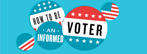 Be an Informed Voter logo